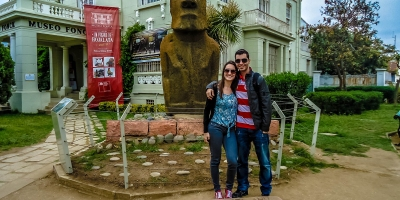 moai de Pascoa
