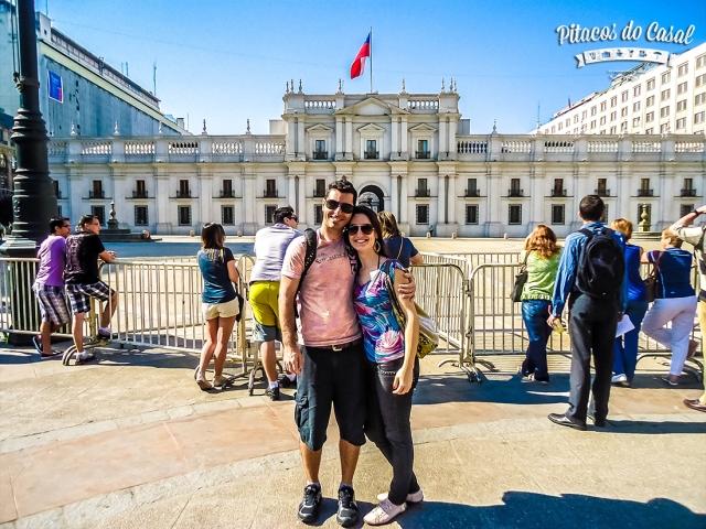 Palacio de la Moneda, Plaza la Constituición