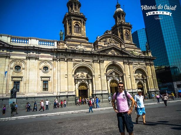 Catedral Santiago, Plaza del Armas