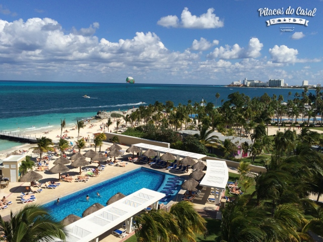 vista do quarto - hotel Riu Caribe, Cancun