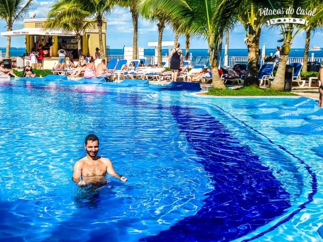 piscina - hotel Riu Caribe, Cancun