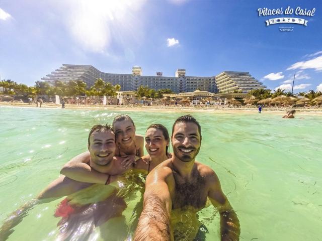 praia - hotel Riu Caribe, Cancun