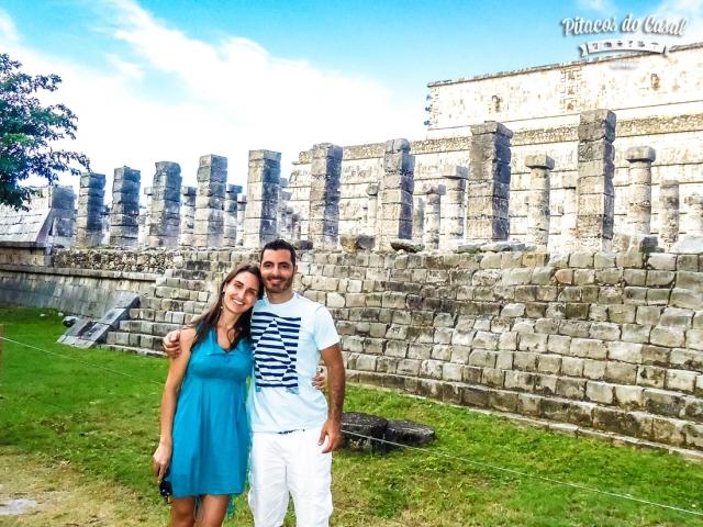 chichen itza mil colunas mexico