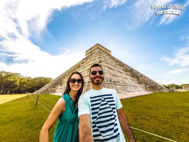 el castillo piramide chichen itza mexico
