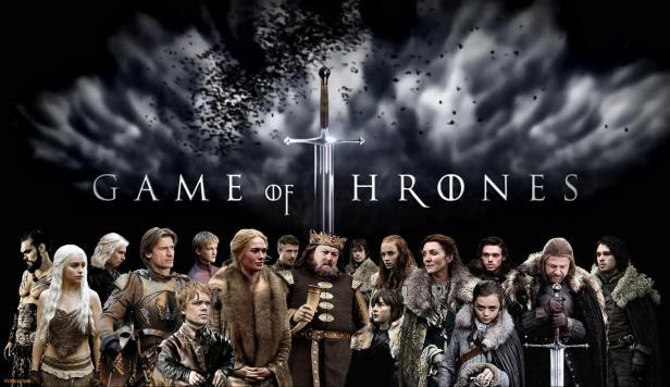 Montagem do site Game of Thrones BR