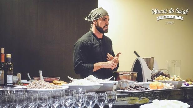 Nutricionista e chef André Luiz