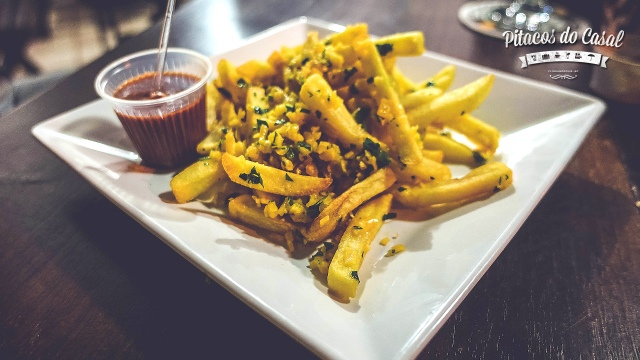 Batatas garlic
