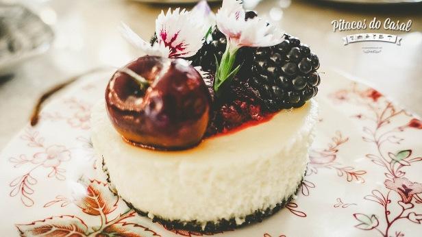 Cheesecake - Casa de Chá Mayra Pauli