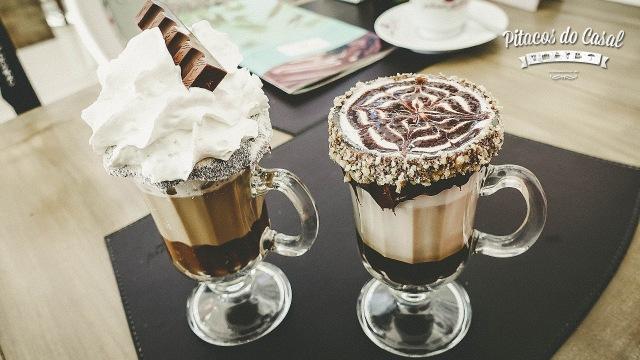 Café Kinder e Café Mocha Nutella