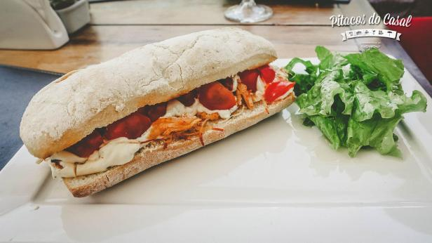 Sanduíche Frango Supreme