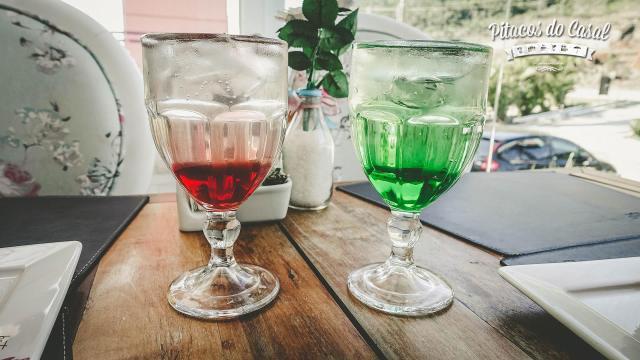 Soda italiana sabores framboesa e maçã verde