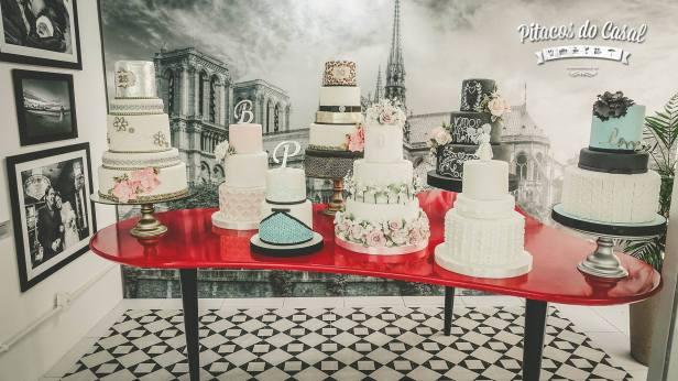 Opções de bolos para festas