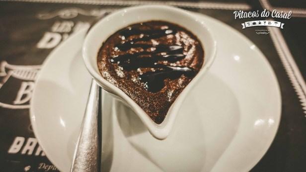 Mousse au chocolat belga