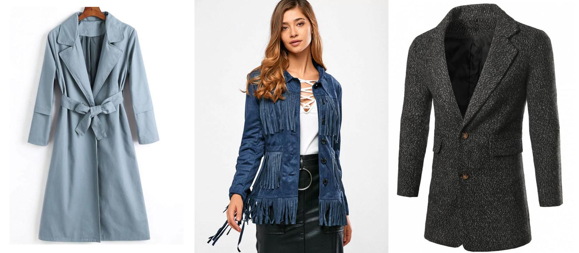 b38d87259a Trench coat é o clássico dos casacos. E esse de azul clarinho achei muito  lindo